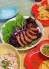豚肉とプラムの赤ワイン煮