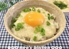 白だしde簡単☘️味噌とろろ丼&麺