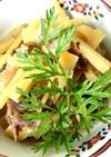 筍と豚肉の甘辛煮