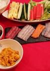 簡単手巻き寿司( * ॑˘ ॑*  )