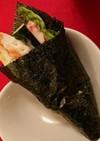 手巻き寿司 海老