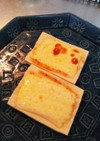 糖質オフ♡高野豆腐のオープントースト♫