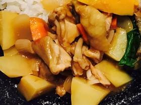 鶏の甘酢和え(酢鶏)