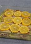 キャベツと豚バラのレモン蒸し