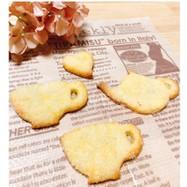強力粉と粉糖でザクザクココナッツクッキー