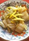 白菜のしょうが味ぽん酢漬け