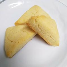 米粉のざくざく堅いスコーン風クッキー♪