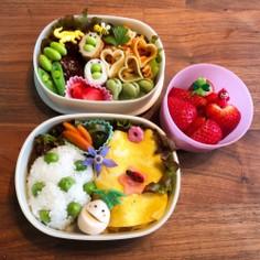 保育園のお弁当(2019.5)
