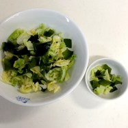 【幼児食】取分けOK 簡単キャベツサラダ