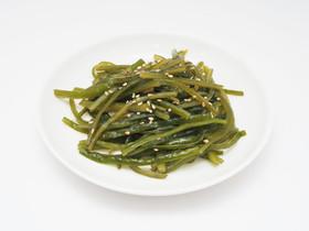 細切り茎わかめの中華風炒め(常備菜)