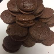 おっさんが作る雑なチョコレートマカロン