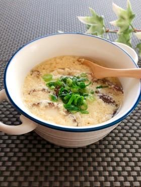 鶏のゆで汁リメイク★かきたまスープ
