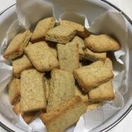 おからと全粒粉で作ったクッキー