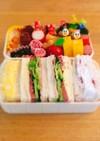 運動会お弁当サンドイッチフルーツサンド