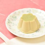 【ご高齢者向けおやつ】ぷるるん緑茶ぷりん