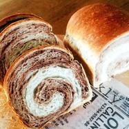 パウンド型で作れる♡ココアの食パン♡