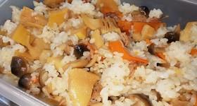 筍の混ぜご飯