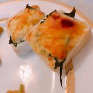 魚焼きグリルで簡単!はんぺんチーズ焼き✩