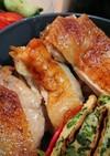 鶏もも肉のマヨネーズ醤油焼き