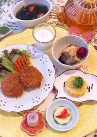 5月21日 献立 味噌カツ 朝食