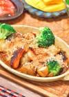 鮭とジャガイモのオーブン焼き