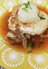 和風あんかけの豆腐ハンバーグ