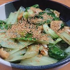 晩生菜(しろ菜)の炊いたん♡