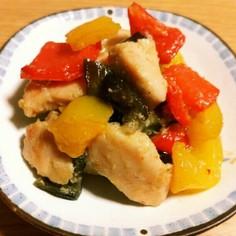 塩麹鶏むね肉の野菜炒め