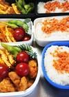 中学生のお弁当(唐揚げ)