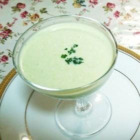 冷凍枝豆と牛乳で簡単♪枝豆冷製スープ