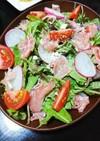 【簡単】オシャレに見えるサラダ