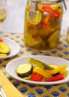 夏野菜の常備菜☆簡単カレーピクルス