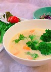 市販のコーンスープで!カサ増しスープ