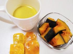 +離乳食♡電気圧力鍋でかぼちゃの煮物