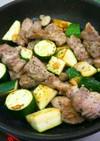 超簡単‼ ズッキーニと豚バラのソテー