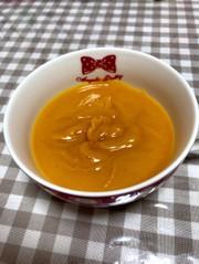 離乳食初期*かぼちゃペーストの写真