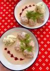 肉団子のクリーム煮