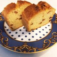 【グルテンフリー】甘納豆のパウンドケーキ