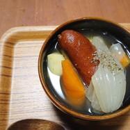 我が家の簡単コンソメスープ