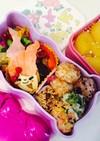 4歳春のピクニックお弁当 マーメイド
