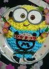 ミニオン ケーキ★ キャラ 立体ケーキ