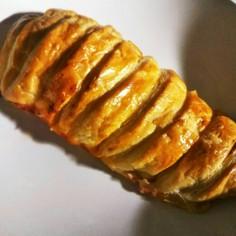 簡単、冷凍パイシートで胸肉のパイ包み焼き
