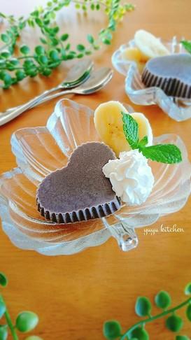 レンジで簡単☆溶けないチョコアイス。