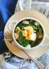レンジで簡単☆絹さやと卵のオイマヨサラダ