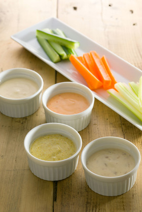 野菜スティック~4種の自家製マヨネーズ~