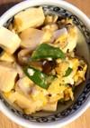 ヘルシーランチに☆豆腐の卵とじ丼