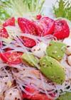 ブリックスナインの春雨サラダ