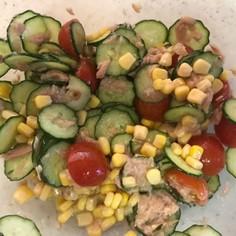 カラフル簡単夏サラダ