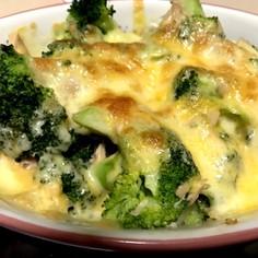 簡単!ブロッコリーのチーズ焼き