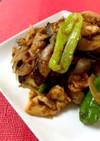 簡単 豚バラ茄子と獅子唐の甘味噌炒め